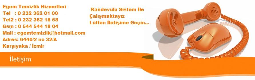 İzmirde Ev Temizlik Şirketi Telefon ve İletişim Bilgileri